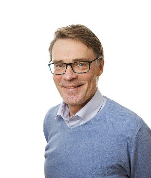 FORNØYD: Sjefredaktør Geir Arne Glad er godt fornøyd med utviklingen og ser framover.