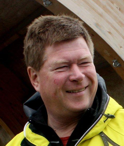 Positiv: Olav Resaland i Eidsvoll Almenning.