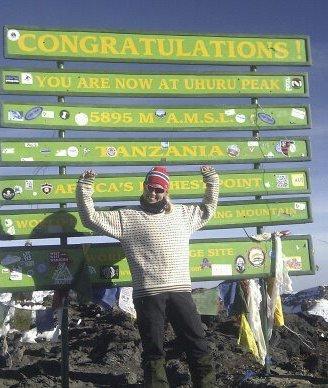 STARTEN: Det startet med Kilimanjaro i 2012. Settemsdal.