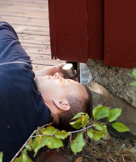 For å tette huset, er det viktig å finne ut hvor musa kommer inn.