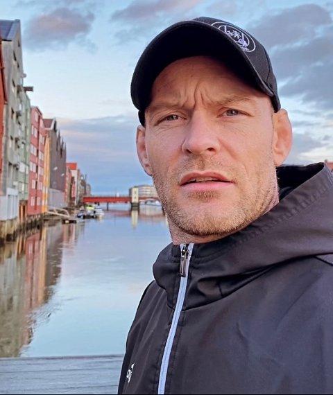 I Trondheim: Aron Jahnsen er i Trondheim.