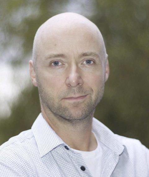 TIL BARNAS BESTE: Leder Tor-André Ribe-Anderssen for familievernkontoret i Follo sier at det er en bevisst satsing at flere barn skal bli hørt i foreldrekonflikter.