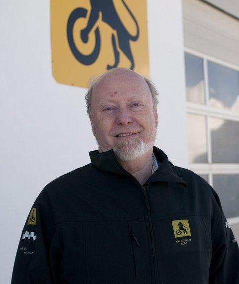 NAF: Knut F. Jenssen representerer NAF i Bodø.