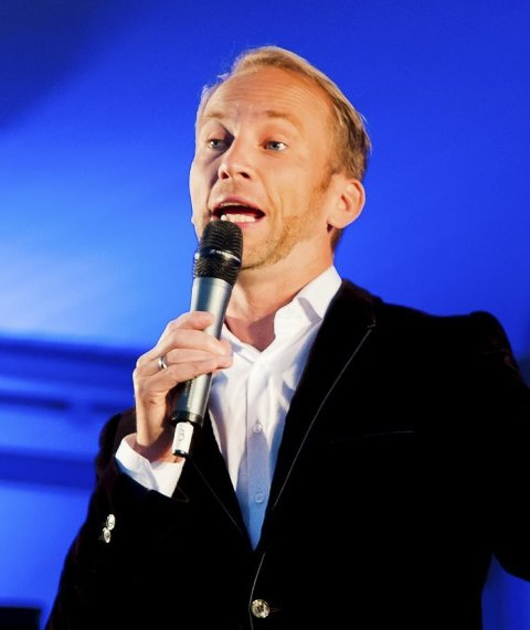 Gleder seg: Erik-André Hvidsten gleder seg ille til juni og konserten med Lasse Berghagen.
