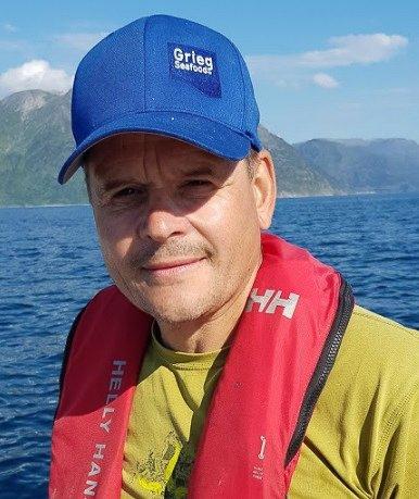 FRYKTER ET NYTT ILA-TILFELLE: Roger Pedersen er samfunnskontakt i Grieg Seafood Finnmark.
