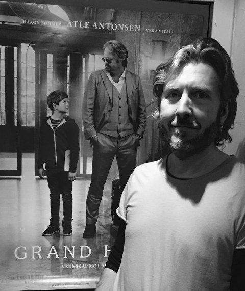 Nominert: Sarpingen Kåre Christoffer Vestrheim er nominert til Kanon-prisen i kategorien Beste filmmuiskk, for filmen «Grand Hotel».