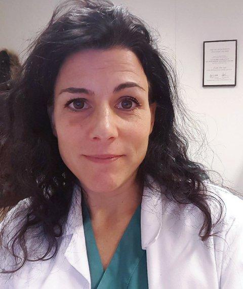 Kommuneoverlege Cornelia Gåskjenn er en del av en egen prosjektgruppe som har ansvaret for vaksinasjon i Vegårshei kommune.