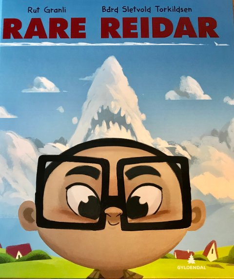 RAR: Rare Reidar er navnet på Granlis nye bok.