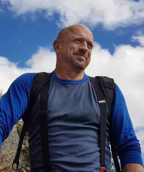 NASJONALPARK: Bent Bakkan fra Miljøpartiet De Grønne skal representere Miljøpartiet De Grønne i styret i Lofotodden nasjonalpark. Foto: privat