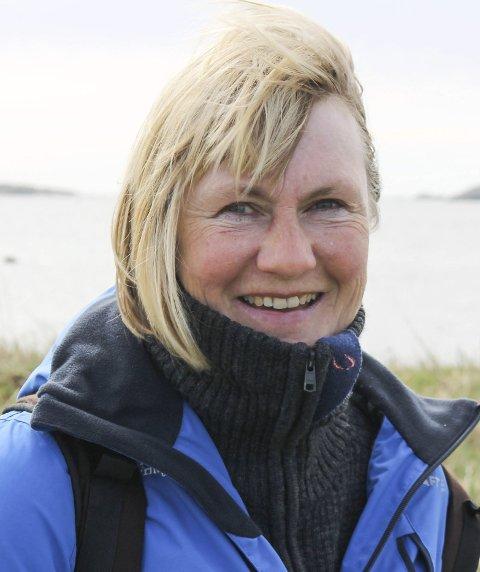 Anne Sjømæling er svært glad for den store gaven til kystledhyttene.