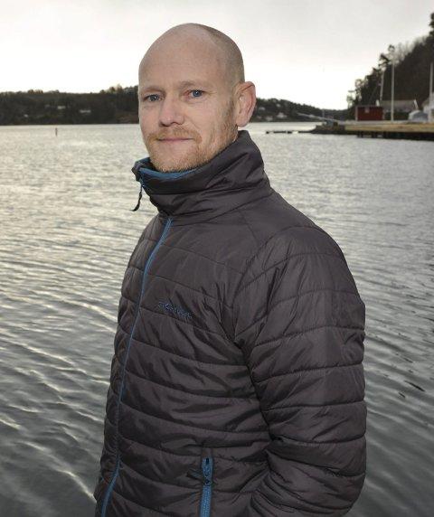 Skuffet: Det falt ikke Axel Dalen og TRK inn å sjekke noe før de benyttet «sin» regattauke.Arkivfoto
