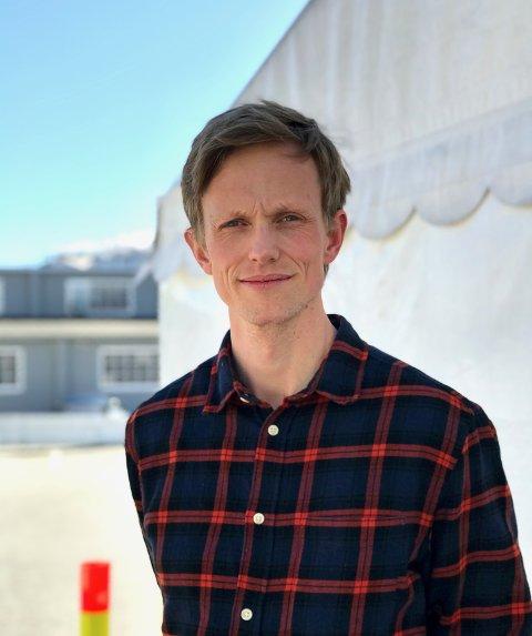 NY KOMMUENOEVRLEGE: Ådne Dæhlin (38) skal overta jobben som kommuneoverlege etter Sidsel Storhaug 1. august.