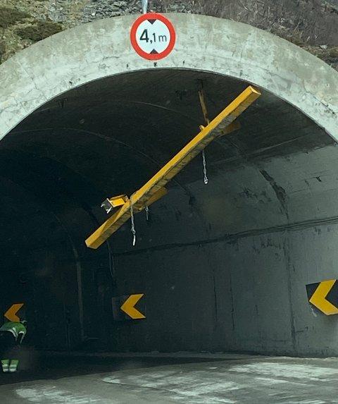 Et høydehinder trengs å bli fikset i Skarvbergtunnelen