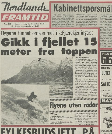 Faksimile NF 7. desember 1972
