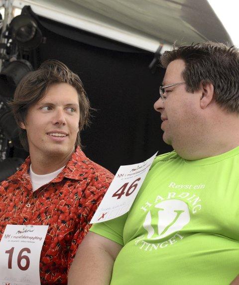 Meistrar: Andreas Wahl har enno til gode å slå Sverre Kleivkås sin rekord frå 2003. (her i 2013).