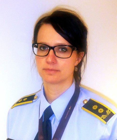Politiadvokat: Julie Dalsveen, Innlandet politidistrikt.