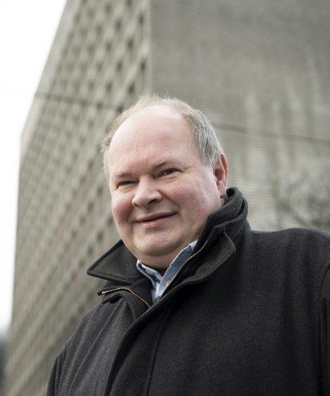 Førstekandidat i Folkeaksjonen mot mer bompenger Trym Aafløy. FOTO:  Arne Ristesund