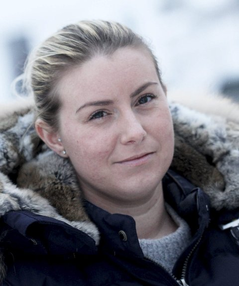 Herlig!: Linn Sveen-Larsson fra fotballgruppa i Hof IL takker.