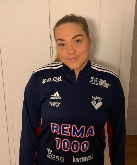 DEBUT: Julie Nygård debuterte med to scoringer i møte med Molde i eliteserien søndag.