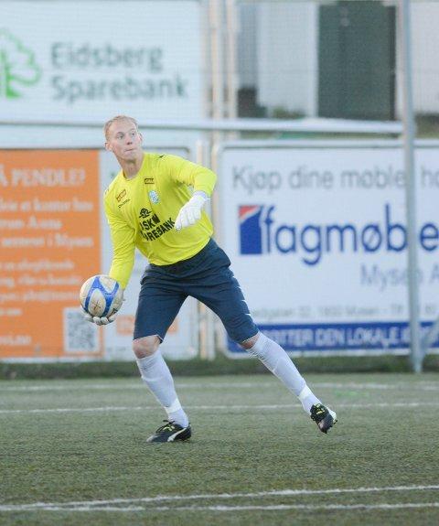 KEEPER: Kamil Rylka har flere år bak seg som Askim FKs sisteskanse. Han har også vært med i trenerteamet i klubben.