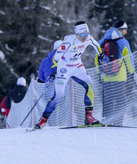 I FRAMGANG: Denne vinteren er Moa Molander Kristiansen blitt enda bedre, noe hun har vist i U23-VM så langt.