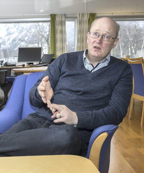 Har svart: Ordfører Ståle Refstie fortalte til formannskapet at Sunndal som Hydro-vertskommune ble spesielt gjort oppmerksom på Joint Battery Initiative. Han har arbeidet med saken sammen med plantjenesten på rådhuset og Sunndal Næringseiendom.