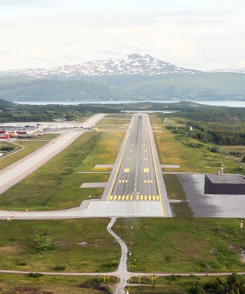 USIKKER: Fremtiden til Harstad/Narvik Lufthavn Evenes, er høyst usikker, fremholder Roald Kristensen i dette leserbrevet.