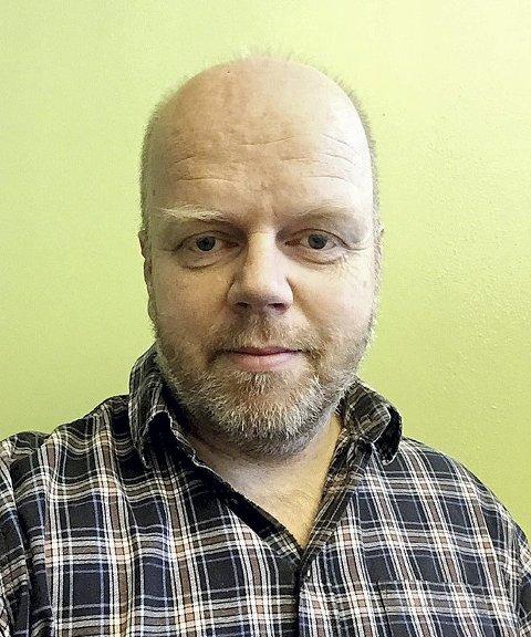 Snill mann: Tom Grette-berg hjalp ekteparet med skyss til Drammen. Foto: Privat