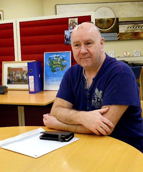 Roar Svendsen, styreleder ved Steinkjer Montessoriskole.