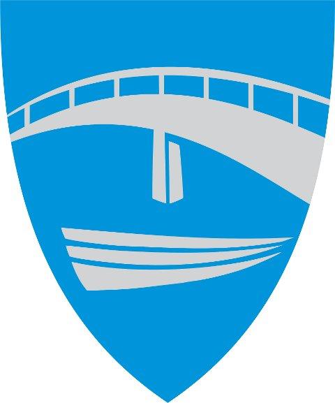 Endeleg versjon: Slik ser kommunevåpenet til Alver ut. Det er laga av grafikar Evy Eknes, som er dagleg leiar ved Reklamehuset i Knarvik. Illustrasjon: Evy Eknes
