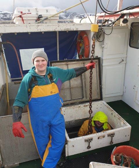 Sivert Aleksander Heløy (20) har fått støtte til å kjøpe egen båt.