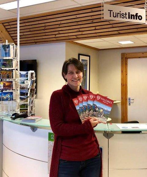 Ansvarlig for turistkontorene i Visit Valdres, Julia Helgesen, er fornøyd med resultatet.