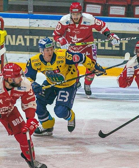 Ole Einar Engeland Andersen skal kommende sesong bytte ut den gule Storhamar-drakta med Stjernens røde.