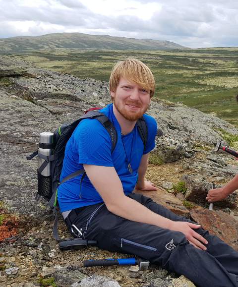 Mastergradstudent Markus Fjelde fra Sandnes i Rogaland, skal har feltarbeid i Jotunheimen i sommer. Det kan ende med nye oppdagelser.
