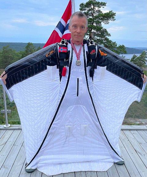 Remi Damgaard har flydd bedre enn noen gang i år. Nå blir det VM i Novosibirsk.