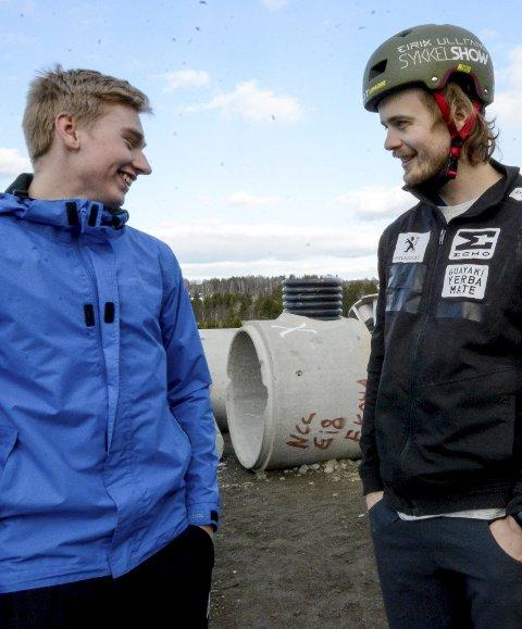LOKALT HÅP: Even Lippestad (18) fra Spydeberg er et lokalt håp i norgescupåpningen i helgen på Tomter.