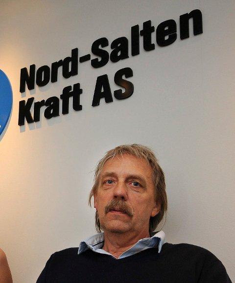 Navnebytte: Nord-Salten Kraft, som er lokalisert på Ulvsvåg, skifter nå navn på deler av virksomheten sin, forteller administrerende direktør Stein Valle.