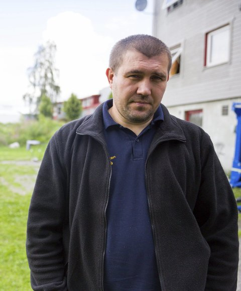 Undrer: Ivan Ivanovitsj Byelkin er forundret over at alle ukrainere får avslag på søknaden om asyl. Han kom til Norge første gang i 2001 og føler seg norsk.foto: tina alnes jørgensen