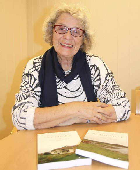 GIR UT BOK NUMMER TO: 76-åringen Åse Tronstad Ytrestøyl er nå ute med sin andre slektsroman, «Seljefløytene».
