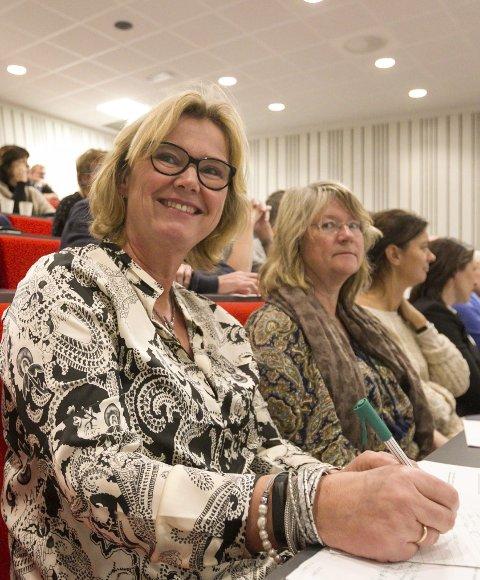 Fornøyd: Rektor Sissel Onstad på Drømtorp vgs.