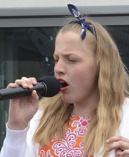Talentiade: I fjor var det Kristiane Skaug som vant Prøysen-talentiaden med «Lomnæsvisa».