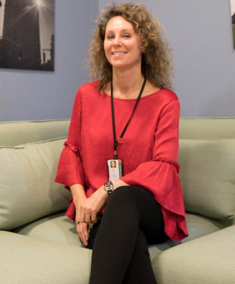 I DAG: Nå er Miriam Rasch leder ved Krisesenteret i Ringerike.