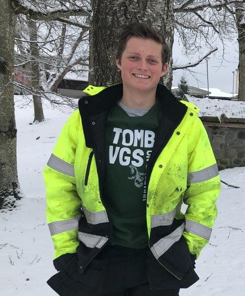 FORNØYD: Torbjørn Fladby-Karterud er svært fornøyd med salget denne sesongen.