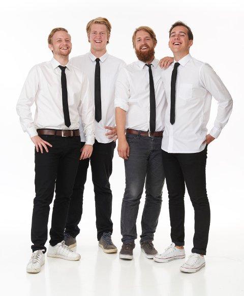 Christian Mikkelsen, Olav Svarstad Haugland, Emil Lystvedt Berntsen og Leo Magnus de La Nuez
