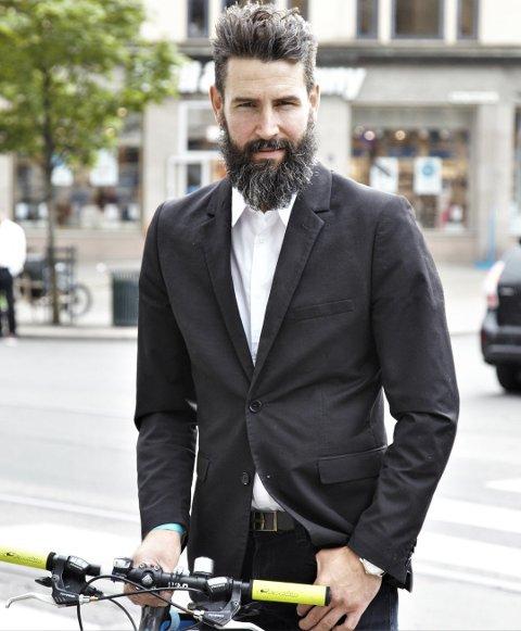 Fagpolitisk rådgiver Mats Larsen i Syklistenes Landsforening. Foto: Kjetil Hasselgård, Syklistenes Landsforening/ANB