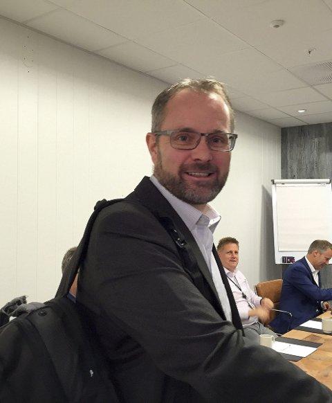 Nye samtaler: Knut R. Johannsessen i Rygge Airport skal snakke mer med Forsvaret.