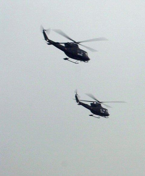 Hvilken vei?: Helikopterproblematikken i Nord-Norge.