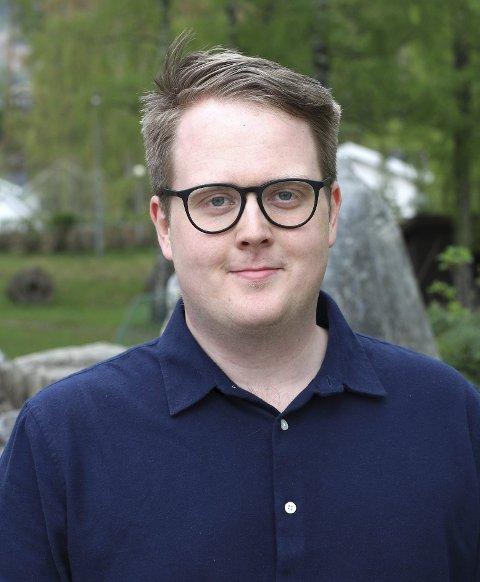 SP er mot Viken: Magnus Weggersrud, Sp.foto: Innsendt