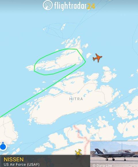 Nissen på førjulsvisitt over Nordmøre.