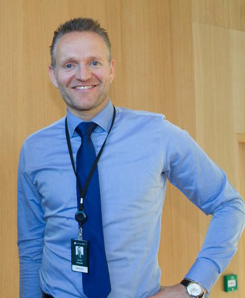 Jan Erik Kjerpeseth, konsernsjef Sparebanken Vest